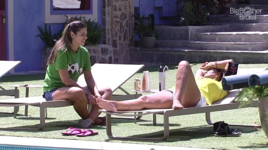 Vivian e Ieda criticam Marcos  - Reprodução/ TV Globo