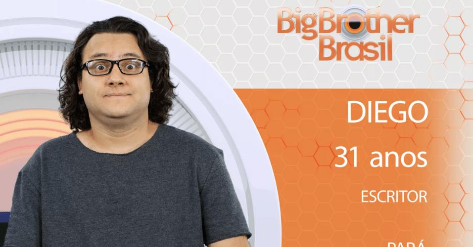 "Diego, participante do ""BBB18"""