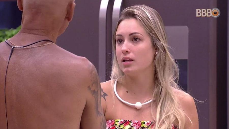 Jéssica e Ayrton conversam sobre o voto da sister na família Lima - Reprodução/GlobosatPlay