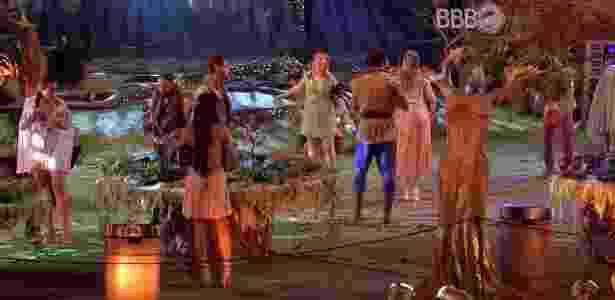 """A """"Festa Elfos"""" é a sexta do """"BBB16"""" - Reprodução/TV Globo"""
