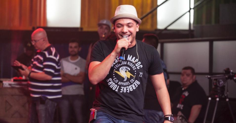 5.abr.2016 - Wesley Safadão também é uma das atrações da grande final