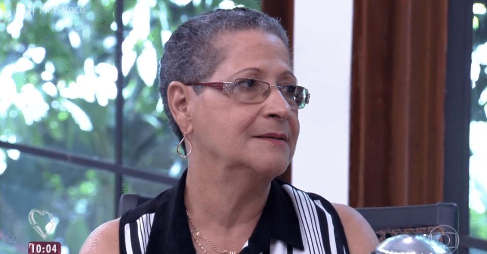6.abr.2016 - Geralda garantiu que nunca convidaria Adélia para ir em sua casa, no programa