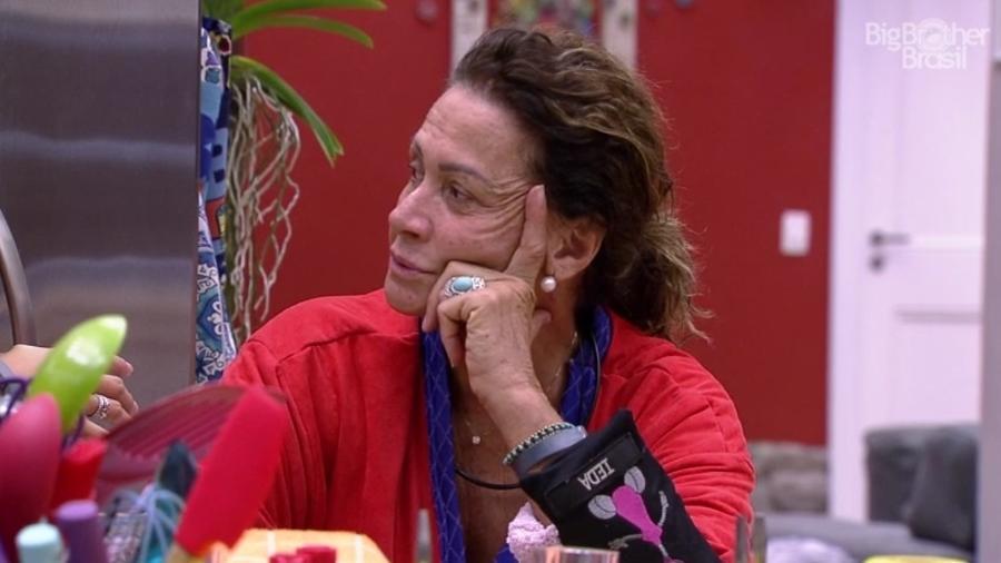 Ieda diz que Emilly merece vencer - Reprodução/TVGlobo