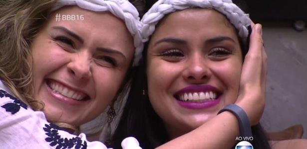 """O desequilíbrio de Ana Paula e a """"intelectualidade emocional"""" de Munik se destacaram no """"BBB16"""" - Reprodução/TV Globo"""