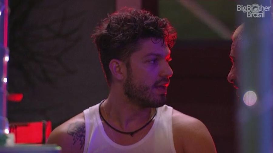Luiz Felipe reclama de negativa de Mayla - Reprodução/TV Globo