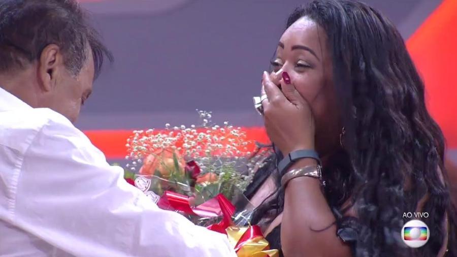 Elis: eliminada em paredão triplo com 80,3% dos votos - Reprodução/TV Globo