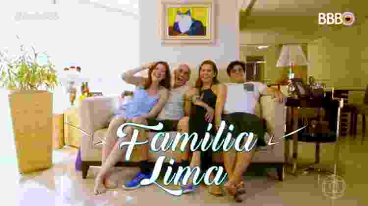 Família Lima - Reprodução/TvGlobo - Reprodução/TvGlobo