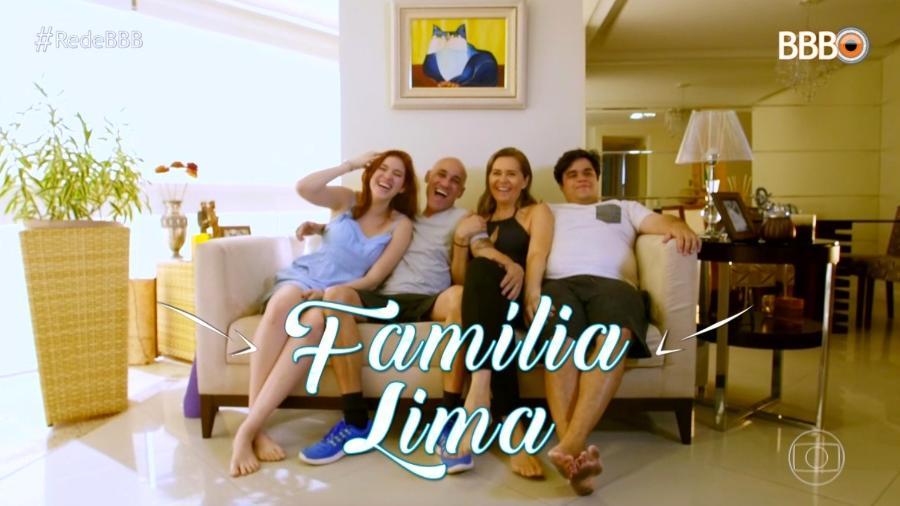 """Família escolhida para participar do """"BBB18"""" - Reprodução/TvGlobo"""