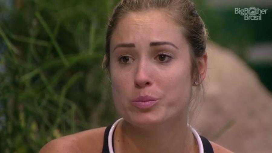 Jéssica chora ao se justificar para Ana Clara  - Reprodução/GloboPlay