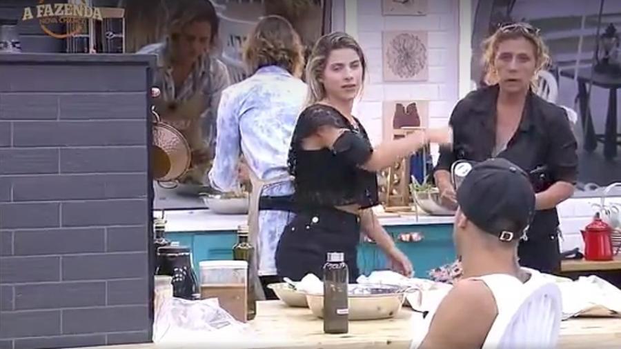 Ana Paula Minerato elogia Rita Cadillac  - Reprodução/R7