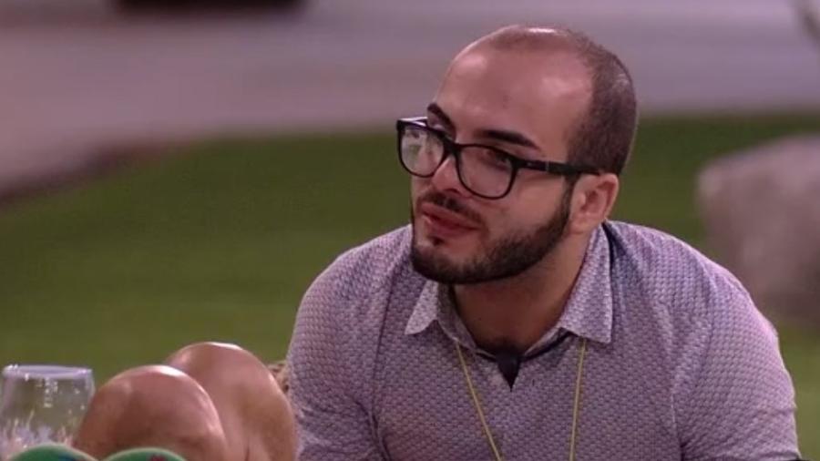 """Mahmoud diz que Kaysar será campeão do """"BBB18""""  - Reprodução/Tv Globo"""
