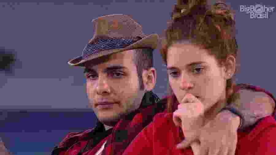 """Mahmoud e Ana Clara falam sobre segundo paredão do """"BBB18"""" - Reprodução/Globoplay"""