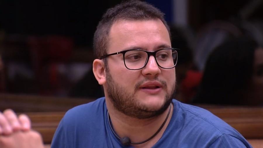 Diego reclama de comportamento de Gleici - Reprodução/Gshow