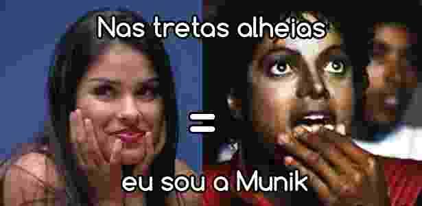 Diva - munik  - Reprodução/TV Globo e Montagem/Diva Depressão - Reprodução/TV Globo e Montagem/Diva Depressão