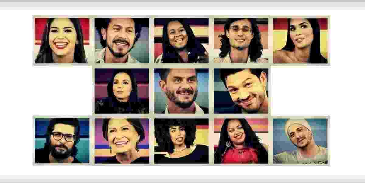 """Participantes do """"BBB17"""" - Reprodução/Tv Globo"""