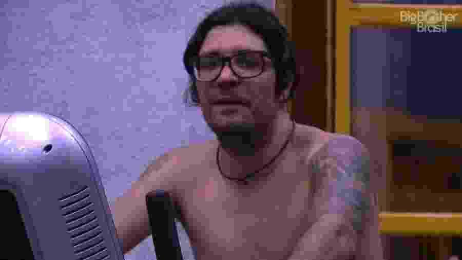 Ilmar afirma que não irá mudar seu comportamento no reality - Reprodução/TV Globo