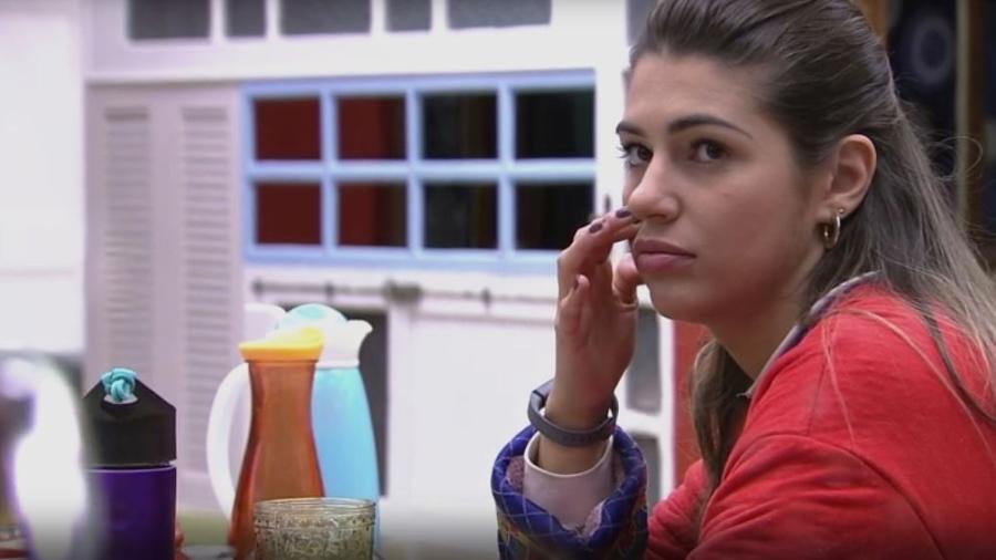 Vivian não esperava ganhar voto de Marcos - Reprodução/TVGlobo