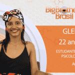"""Gleici, participante do """"BBB18"""" - Reprodução/Gshow"""