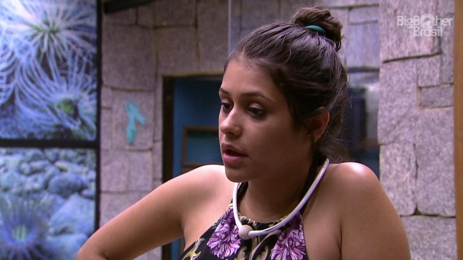 Ana Paula reclama do comportamento de Mahmoud  - Reprodução/GloboPlay