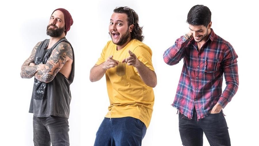 """Caruso, Diego e Lucas formam o quinto paredão do """"BBB18"""" - Reprodução/TvGlobo"""
