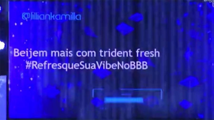 """Internautas pedem beijo na festa do """"BBB17"""" - Reprodução/TV Globo"""