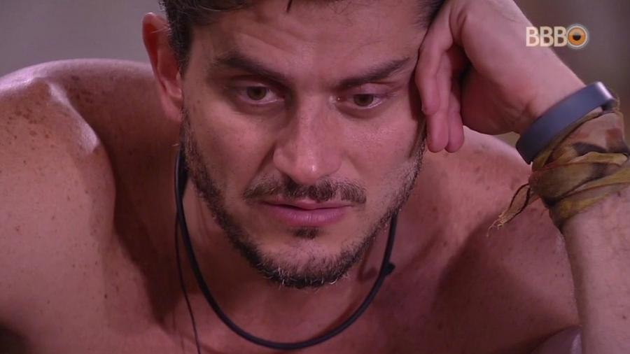 Marcos: retorno de mais um paredão fortalece casal - Reproducão/Tv Globo