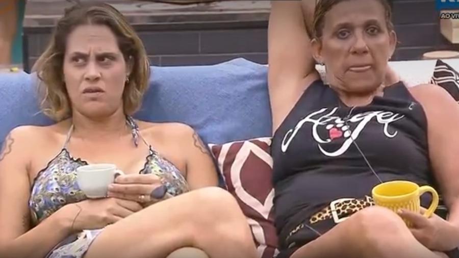 Aritana e Rita reclamam da higiene dos peões - Reprodução/R7