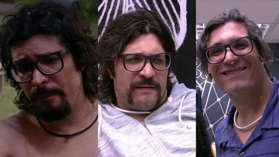 Ilmar muda de visual e enlouquece redes sociais - Montagem/Reprodução/TV Globo