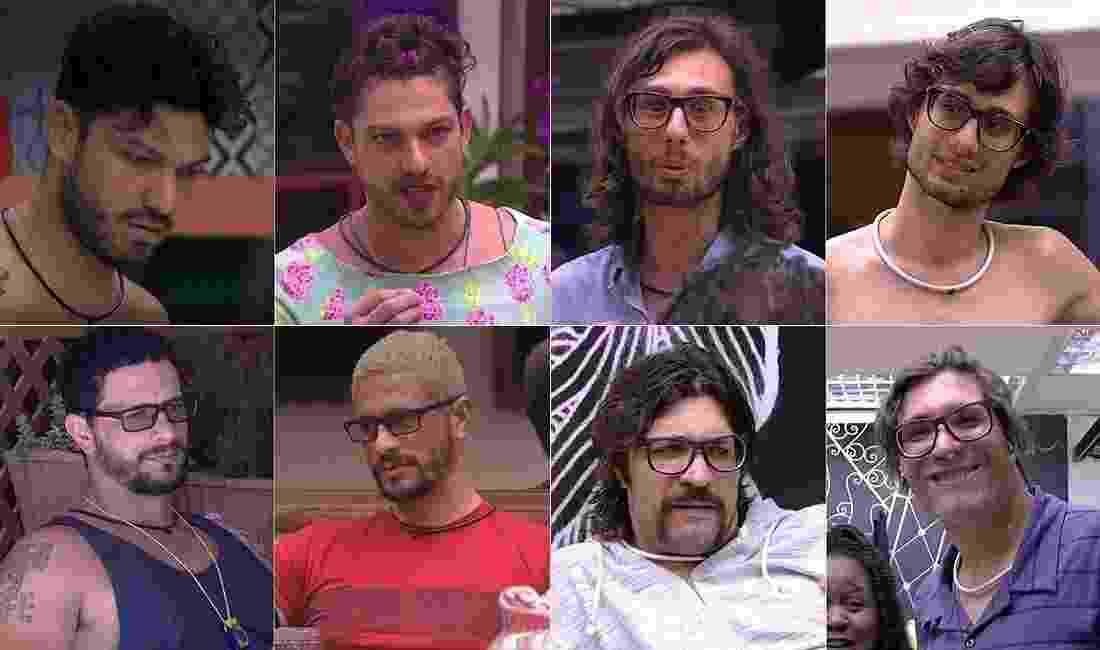 """Mudanças de visual dos participantes do """"BBB17"""" - Montagem/Reprodução/TV Globo"""