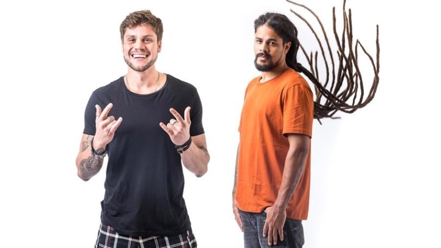 Breno e Viegas formam o décimo primeiro paredão do programa  - Montagem.Globo/ Paulo Belote
