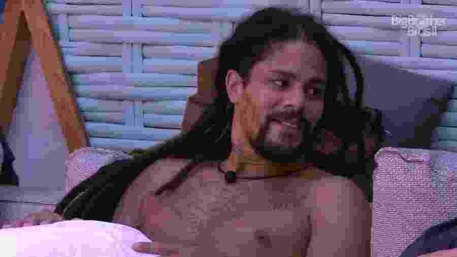 Viegas fala sobre a terceira prova do líder  - Reprodução/GloboPlay