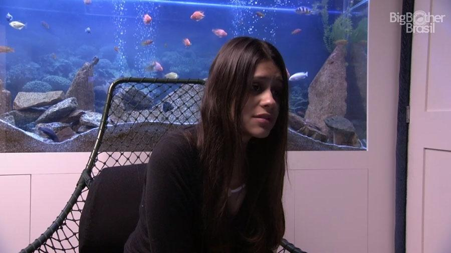 Ana Paula pede ajuda do público no confessionário - Reprodução/GloboPlay