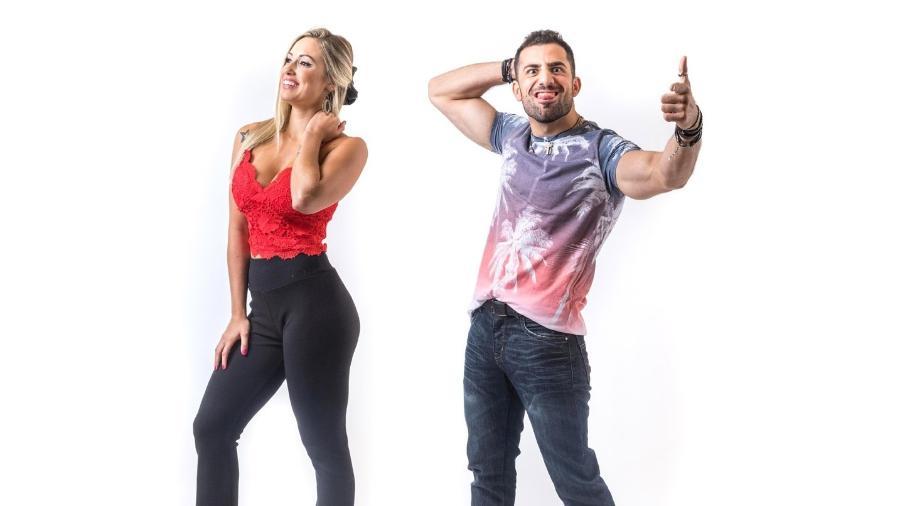 Jéssica e Kaysar disputam o décimo segundo paredão - Montagem/Globo/ Paulo Belote
