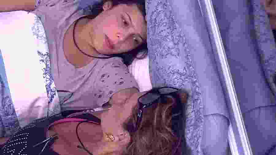 Emilly fala sobre a morte de sua mãe para a sister Ieda - Reprodução/TV Globo
