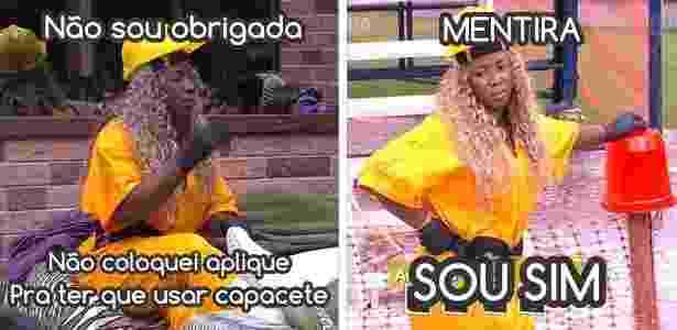 Diva Adélia 5 - Reprodução/Globo e Montagem/Diva Depressão - Reprodução/Globo e Montagem/Diva Depressão