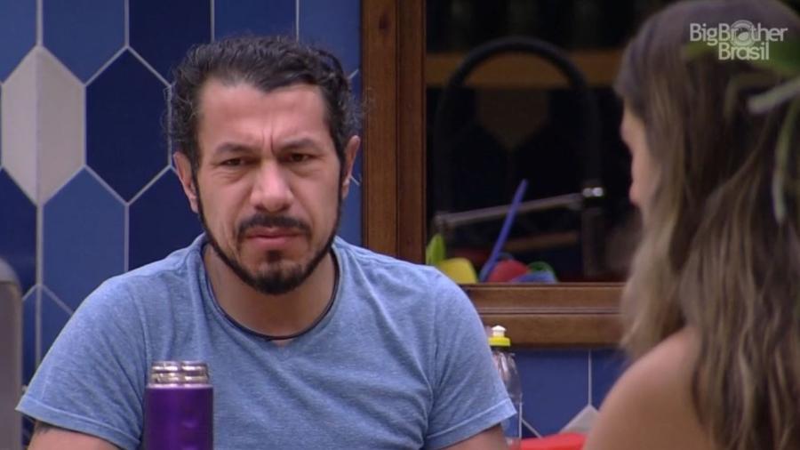 """Rômulo diz que castigo do monstro é """"didático"""" - Reprodução/TV Globo"""