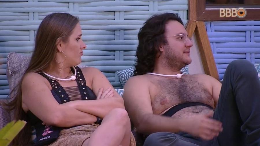 Patrícia e Diego falam sobre Wagner - Reprodução/Globoplay