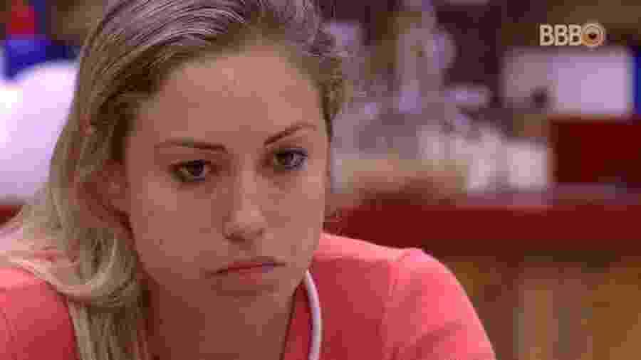 Jéssica fala com Lucas sobre pegadinha de Caruso - Reprodução/Globoplay