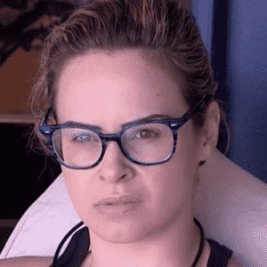 """3.fev.2016 - Ana Paula sobre a sua comemoração após vitória no paredão no """"BBB16"""" - Reprodução/TV Globo"""