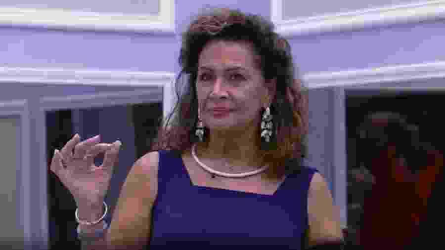 Ieda se irrita com Roberta - Reprodução/TV Globo