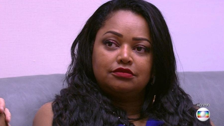 Elis fica nervosa ao saber que foi indicada para o paredão  - Reprodução/TV Globo