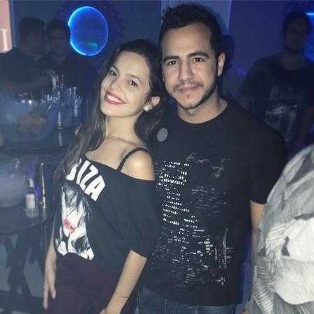 Matheus e Mayla curtem festa juntos no Rio de Janeiro - Reprodução/Instagram/uaimatheus