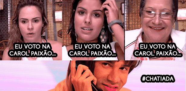 Diva decepções carol paixão - Reprodução/TV Globo e Montagem/Diva Depressão - Reprodução/TV Globo e Montagem/Diva Depressão
