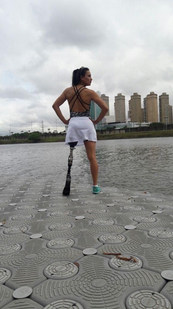 """A paratleta Marinalva de Almeida, participante do """"BBB17"""""""
