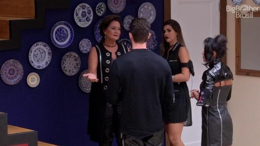 """Marcos confronta Ieda no """"BBB17"""" - Reprodução/TVGlobo"""