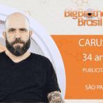 """Caruso, terceiro participante anunciado do """"BBB18"""" - Reprodução/Gshow"""