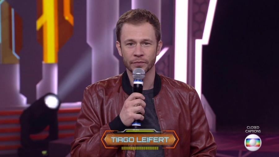 """Tiago Leifert conversa com o público do """"BBB18"""" - Reprodução/TvGlobo"""