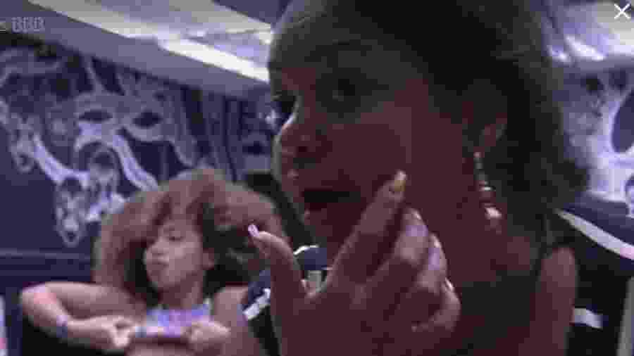 """Elis diz que não vai """"pagar peitinho"""" no reality - Reprodução/TVGlobo"""