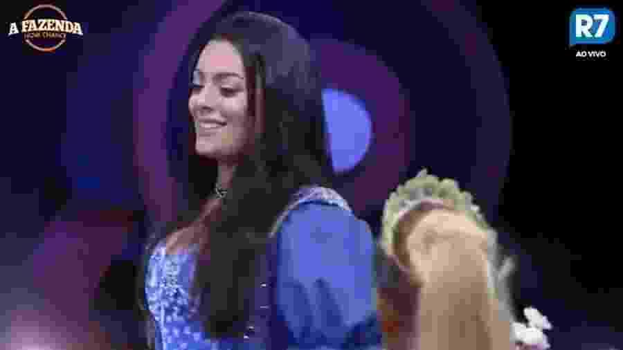 Monique conta a Marcos sobre suposto affair com Adriana Bombom - Reprodução/R7