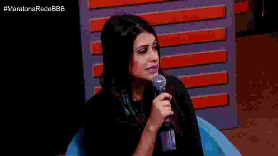 Ana Paula fala sobre ataques dos fãs de Gleici - Reprodução/GloboPlay
